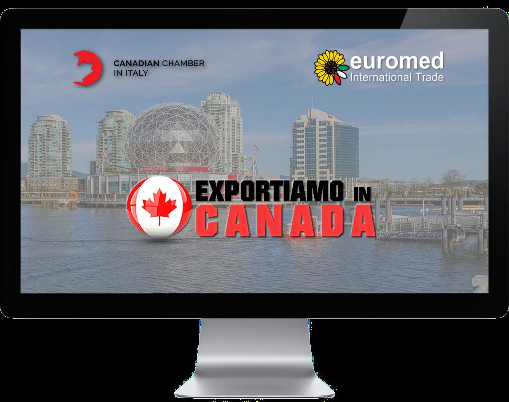 Webinar online - Exportiamo in Canada